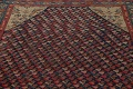 Pre-1900 Karabakh Bote Russian Oriental Hand-Knotted 5x16 Runner Rug image 14