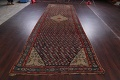 Pre-1900 Karabakh Bote Russian Oriental Hand-Knotted 5x16 Runner Rug image 17
