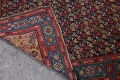 Pre-1900 Karabakh Bote Russian Oriental Hand-Knotted 5x16 Runner Rug image 24