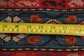 Pre-1900 Karabakh Bote Russian Oriental Hand-Knotted 5x16 Runner Rug image 22