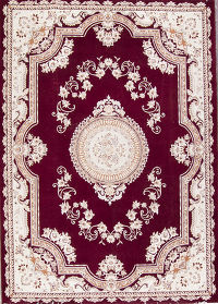 Medallion Tabriz Persian Area Rug 8x11