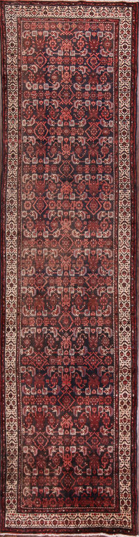 3x13 Malayer Hamedan Persian Runner Rug