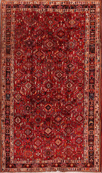 5x9 Abadeh Shiraz Persian Area Rug