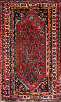 Geometric Tribal Lori Shiraz Persian Area Rug 5x9