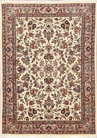 All-Over Floral 4x6 Tabriz Persian Area Rug