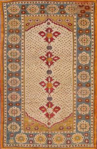 5x7 Oushak Turkish Oriental Area Rug
