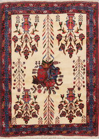 4x6 Shiraz Persian Area Rug