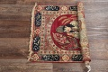 Pre-1900 Antique Minatory Ravar Kerman Persian Rug 2x3 image 12