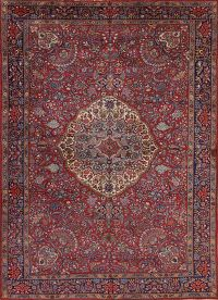Antique 7x11 Tabriz Persian Area Rug
