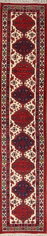 Geometric Tribal 3x13 Ardebil Persian Rug Runner