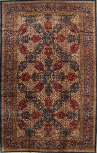 Antique Vegetable Dye 12x20 Agra Taj-Mahal Oriental Area Rug