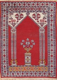 Geometric Tribal 2x3 Anatolian Turkish Oriental Area Rug