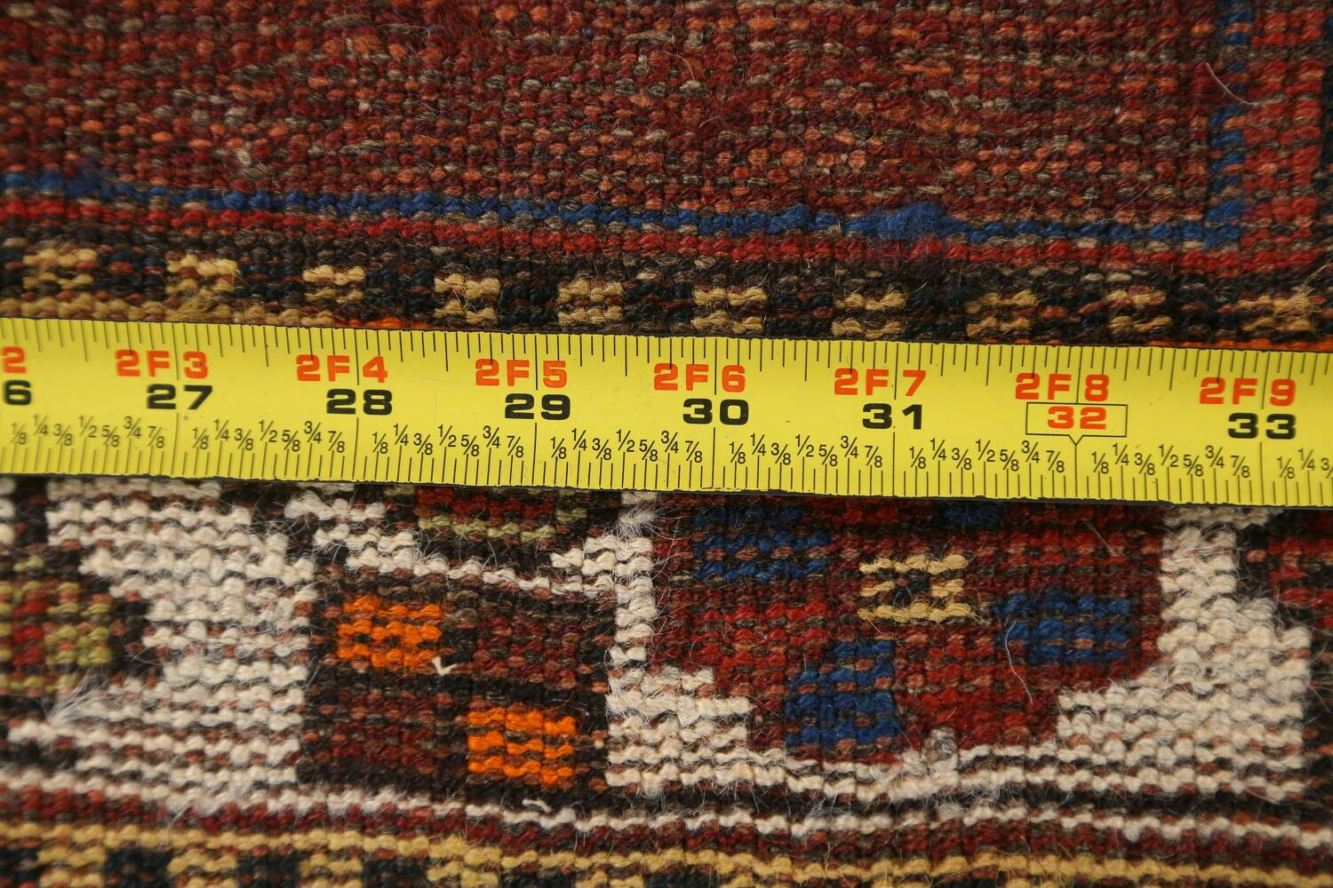 Pre-1900 Antique Ghashghaie Persian Area Rug 5x6 image 22
