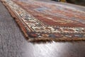 Pre-1900 Antique Ghashghaie Persian Area Rug 5x6 image 6