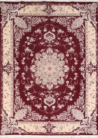 Soft Plush 10×13 Tabriz Machine Made Persian Area Rug