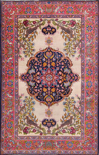 5x7 Tabriz Persian Area Rug