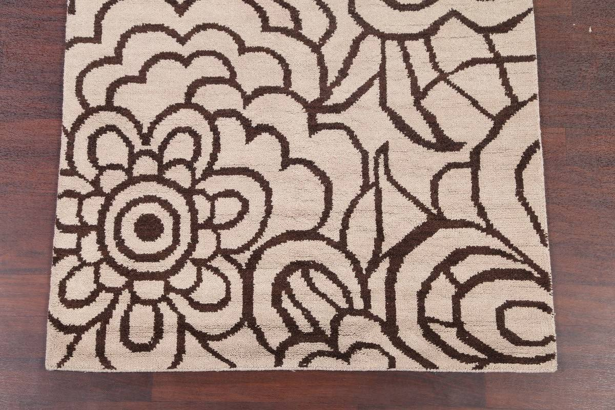 Transitional Floral 5x8 Moroccan Oushak Indian Oriental Area image 5