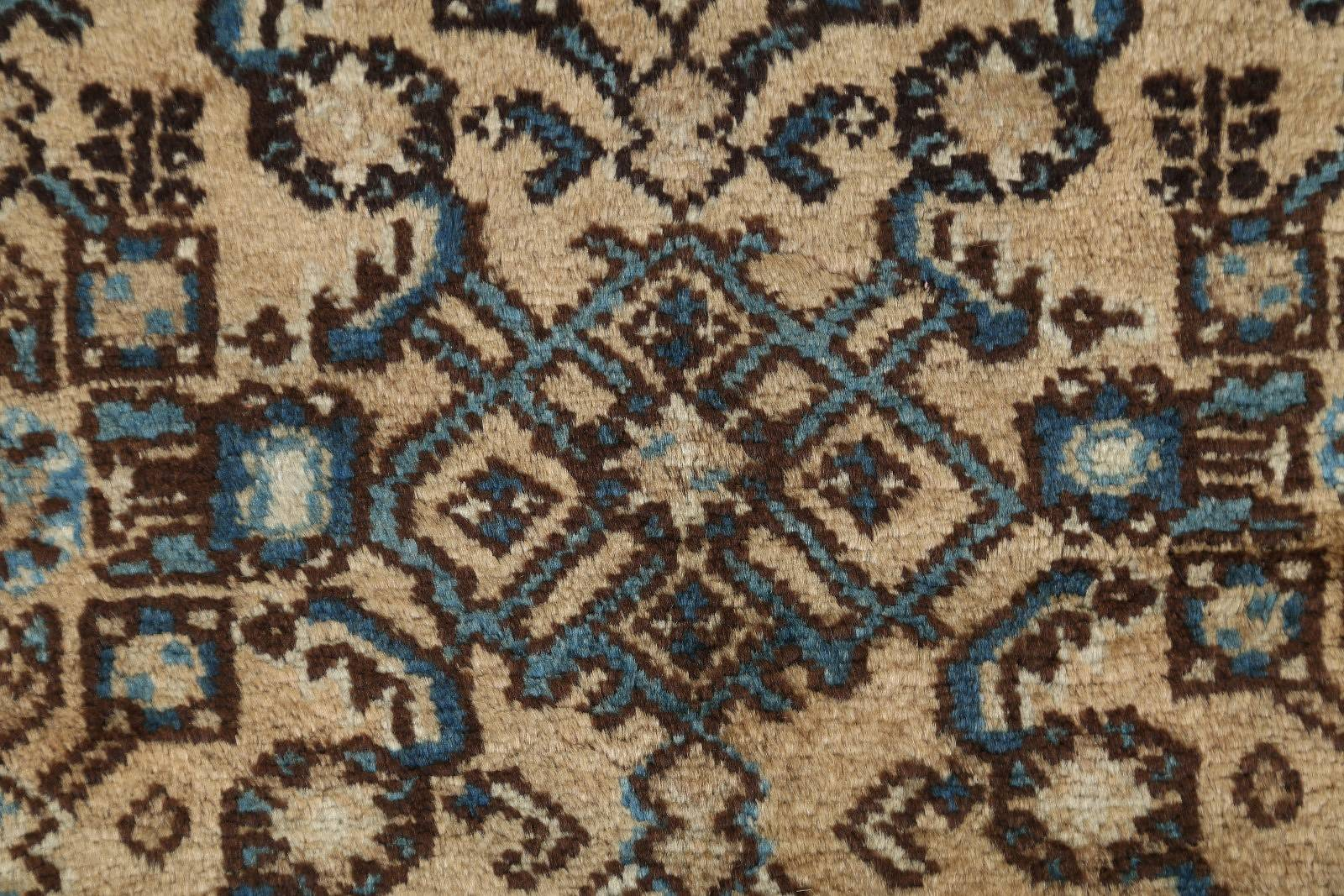 Floral Muted Color 3x13 Hamedan Persian Rug Runner