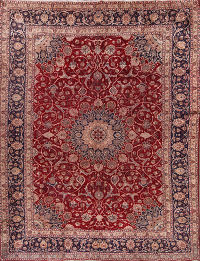 9x12 Mashad Persian Area Rug