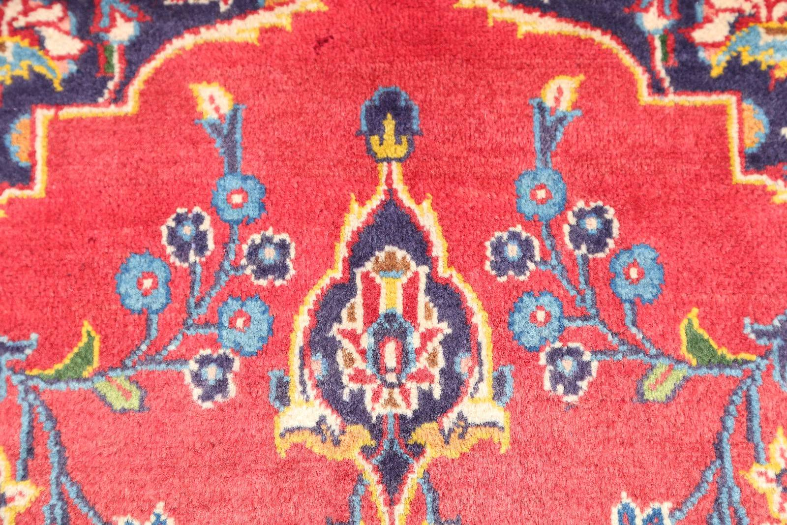 Floral 4x5 Kashan Persian Area Rug