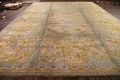 All-Over Floral Savonnerie French Oriental Area Rug 16x21 image 21