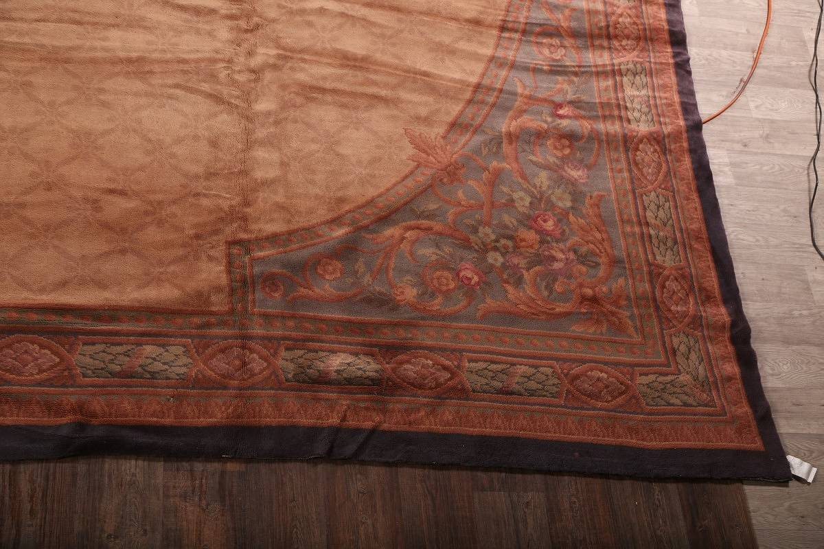 15x29 Aubusson Savonnerie French Oriental Area Rug image 4