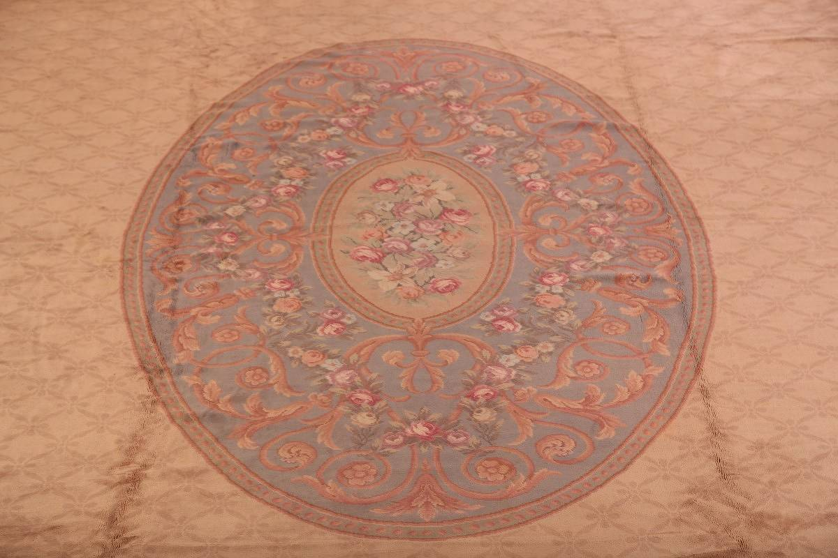 15x29 Aubusson Savonnerie French Oriental Area Rug image 6