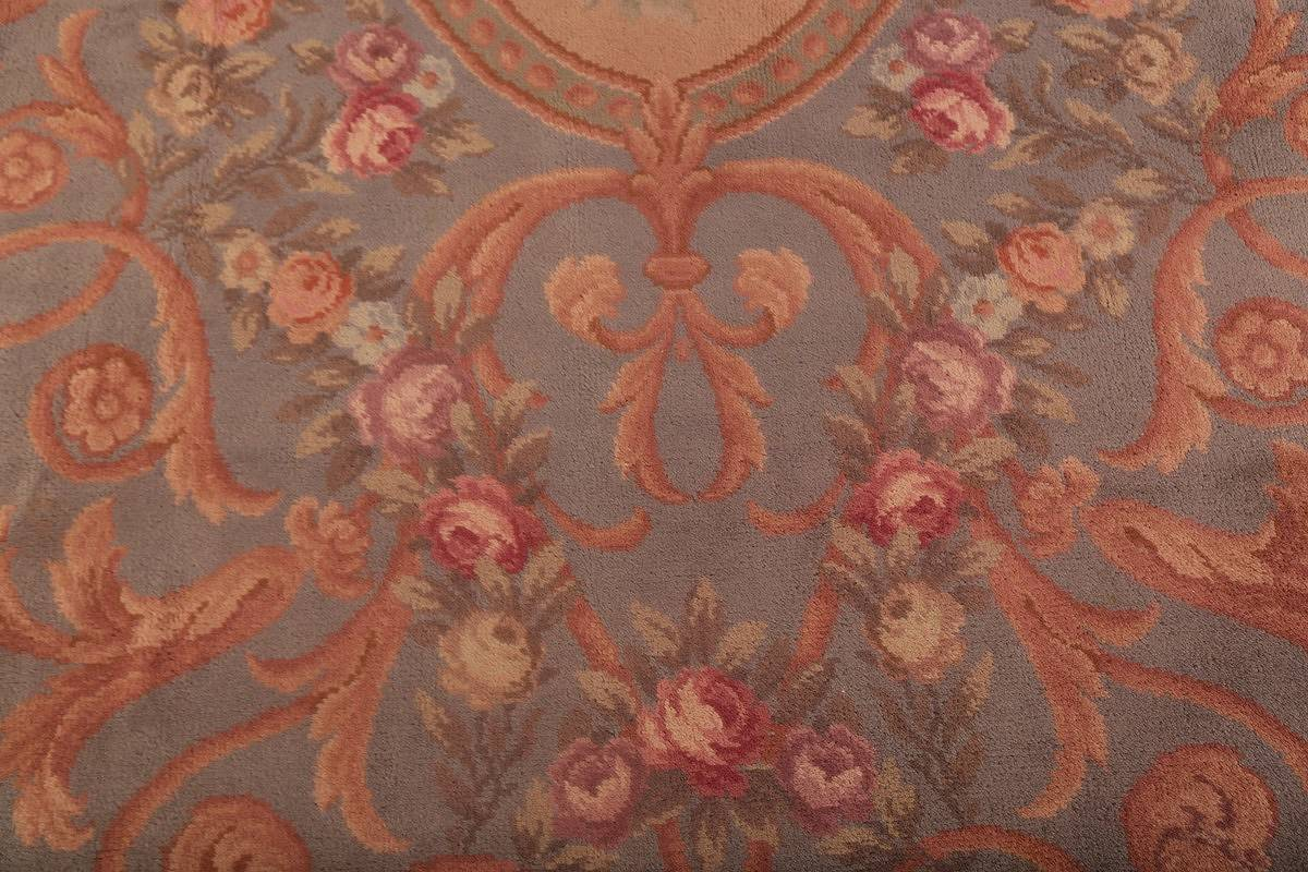 15x29 Aubusson Savonnerie French Oriental Area Rug image 10