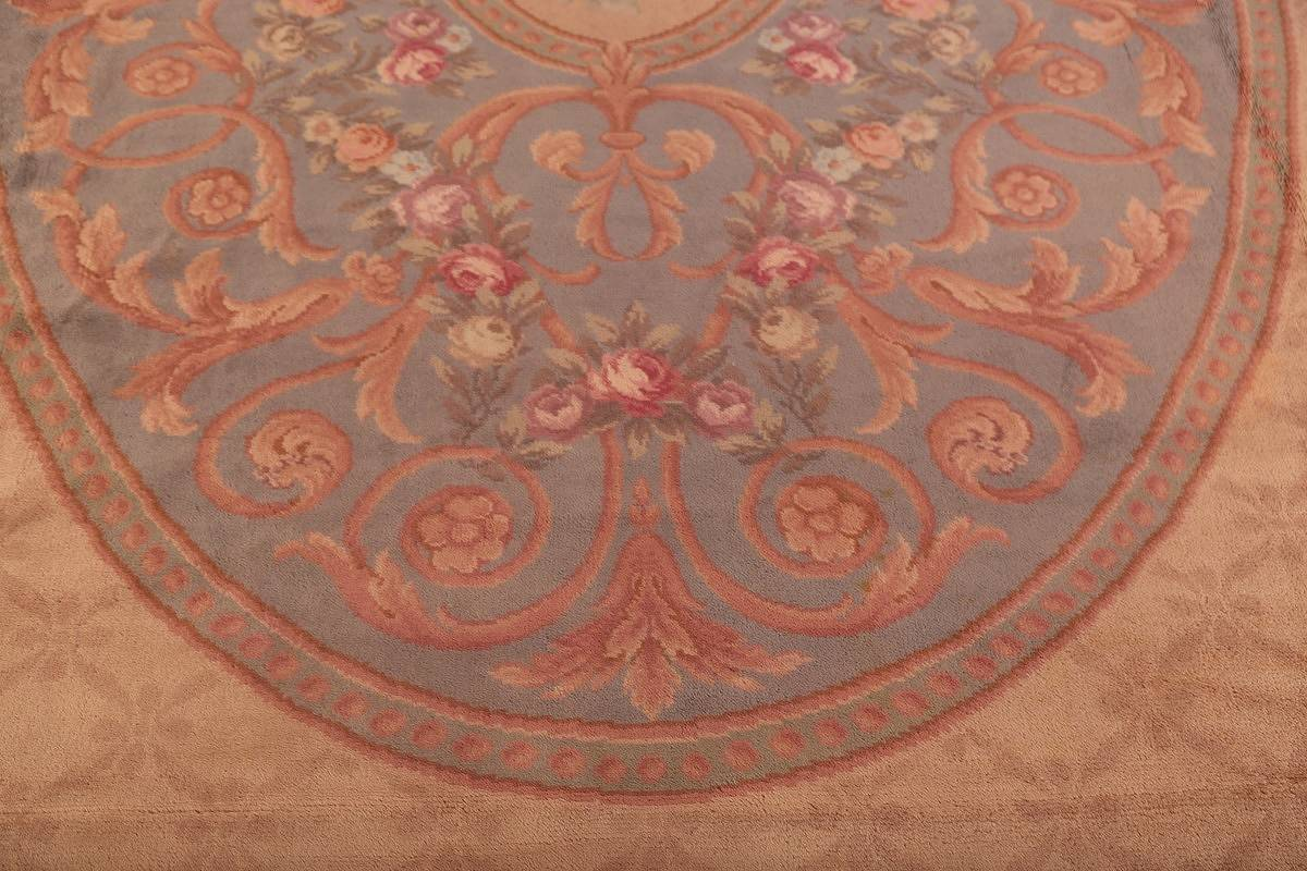 15x29 Aubusson Savonnerie French Oriental Area Rug image 11