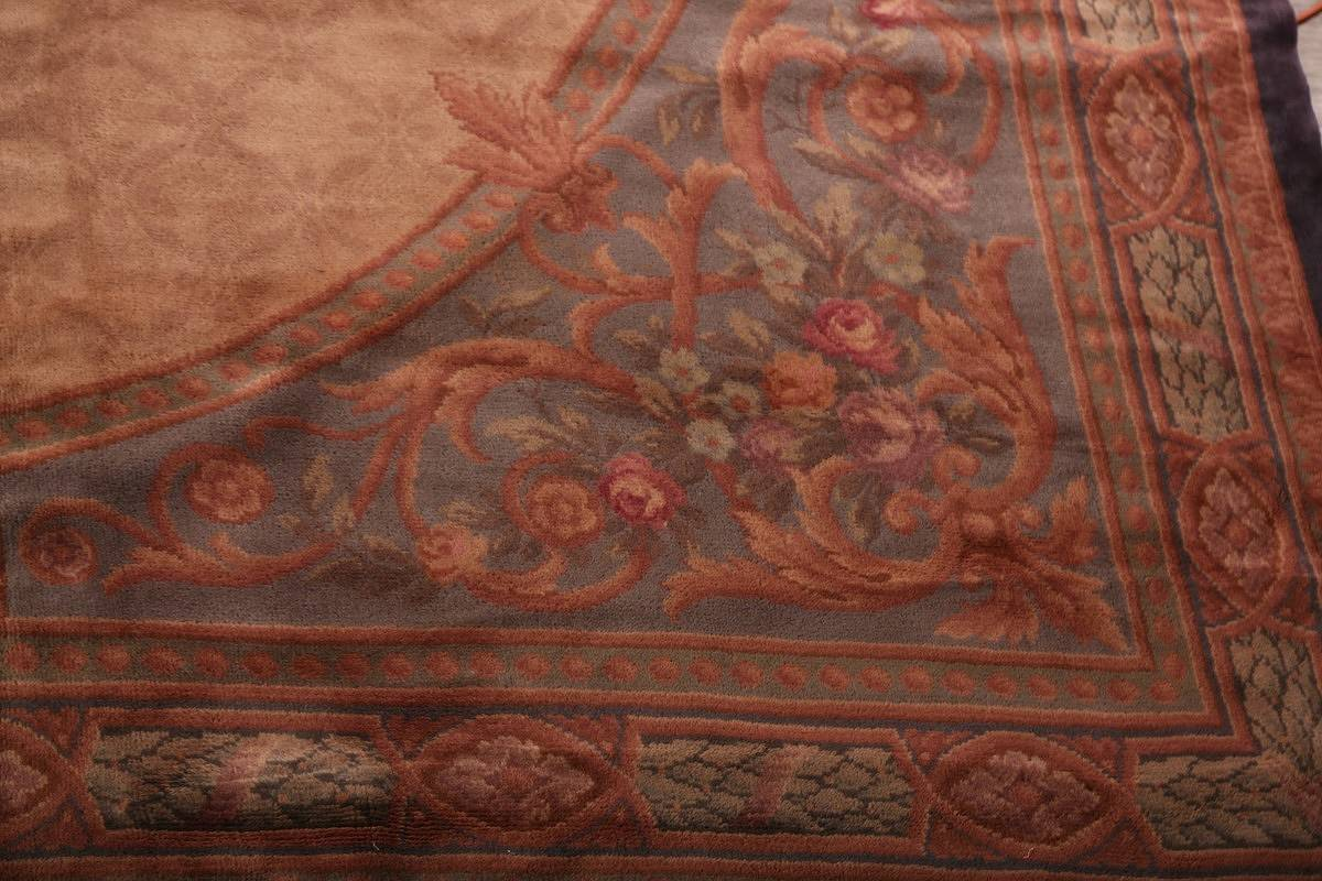 15x29 Aubusson Savonnerie French Oriental Area Rug image 13