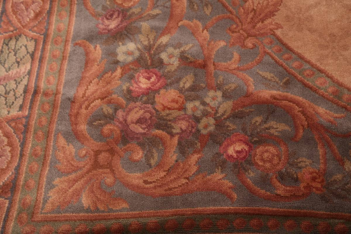 15x29 Aubusson Savonnerie French Oriental Area Rug image 14