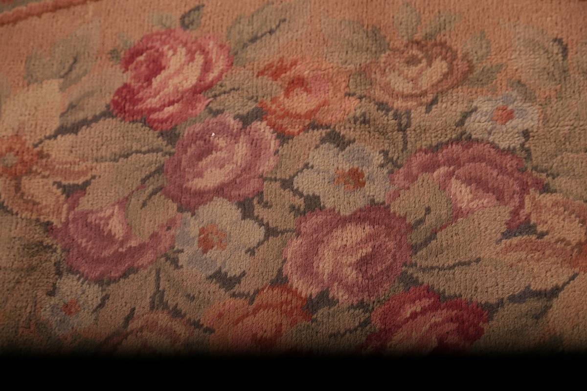 15x29 Aubusson Savonnerie French Oriental Area Rug image 15