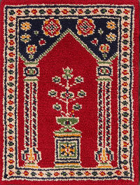 2x3 Rya Swedish Oriental Area Rug