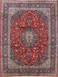 Traditional Kashan Persian Area Rug 10x13