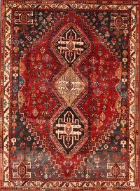 4x5 Abadeh Shiraz Persian Area Rug