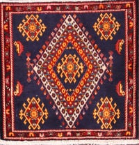 2x2 Abadeh Persian Area Rug