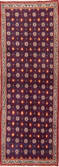 All-Over Geometric 3x9 Mood Persian Rug Runner