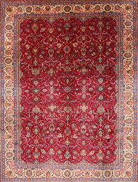 10x13 Sarouk Persian Area Rug