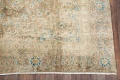 Antique Muted Distressed Kashan Persian Area Rug 9x13 image 5