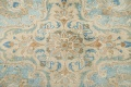Antique Muted Distressed Kashan Persian Area Rug 9x13 image 4