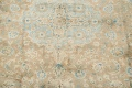 Antique Muted Distressed Kashan Persian Area Rug 9x13 image 10
