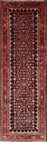4x11 Malayer Hamedan Persian Rug Runner