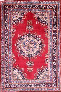 7x10 Mashad Persian Area Rug