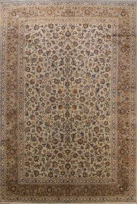 Floral 11x17 Kashan Persian Area Rug