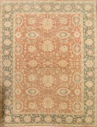 Palace Sized Vegetable Dye 12x16 Oushak Egyptian Oriental Rug