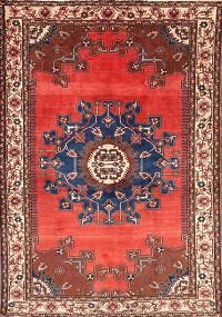 5x7 Malayer Hamedan Persian Area Rug