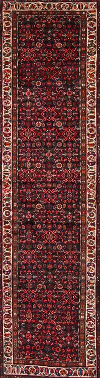3x13 Hamedan Malayer Persian Rug Runner