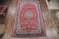 Floral Red Isfahan Persian Area Rug 8x13 image 2