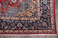 Floral Red Isfahan Persian Area Rug 8x13 image 4