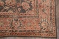 Fossil Black All-Over Muted Antique 9x11 Oushak Turkish Oriental Area Rug image 4